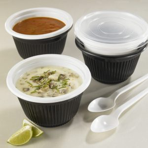 Twin Isolated Soup Container