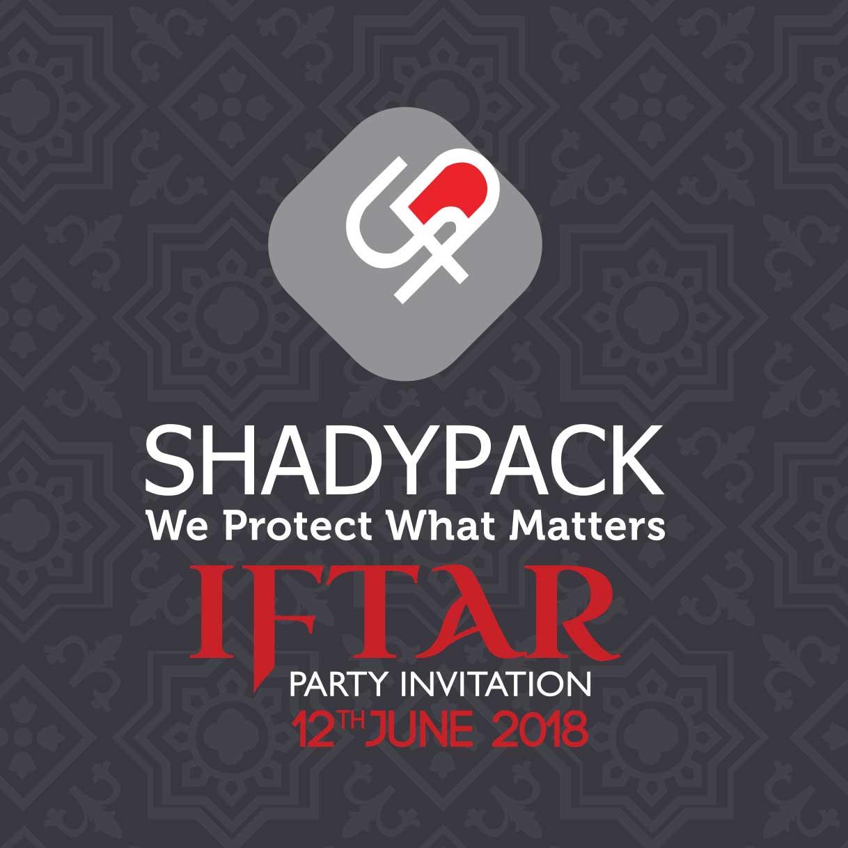 SHADYPACK ANNUAL RAMADAN IFTAR 2018