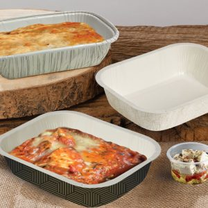 Ovenable Paper Tray