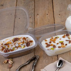 2x1 Hinged Lid Containers